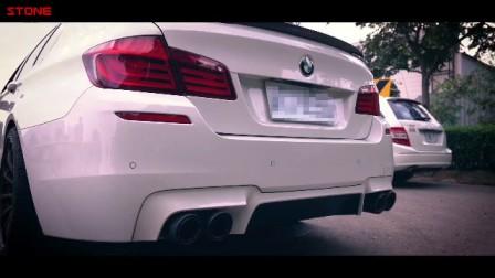 STONE(巨石)BMW F10 535I直管三元+电子马达遥控阀门中尾段