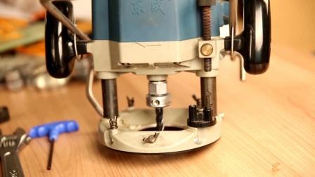 电木铣快速换刀头安装和应用