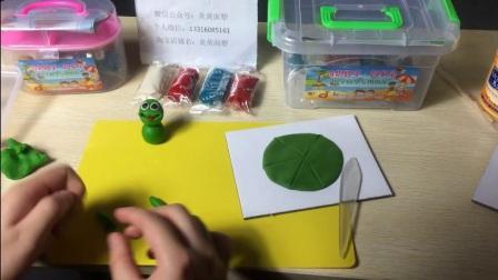 面塑面粉泥手工制作小青蛙