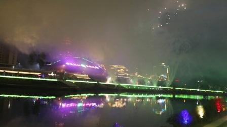 环江毛南族自治县成立三十周年焰火晚会