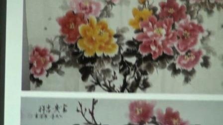 现代著名花鸟画家罗凤书