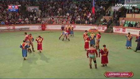 圣祖成吉思汗诞辰855周年暨蒙古自豪日搏克比赛