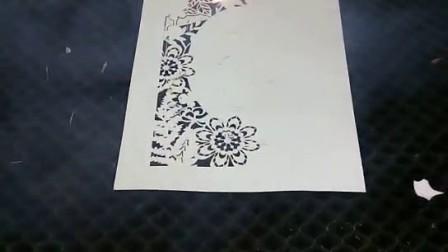 贺卡蛋糕插牌激光切割机 福斯特二氧化碳激光打标机 高配置激光打标机
