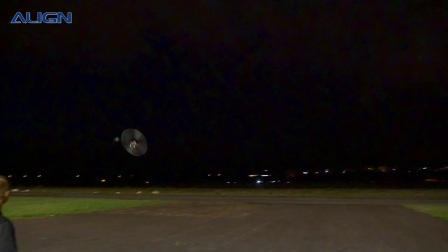 ALIGN TREX700X慢速3D飛行 - 新 105T尾驅動斜齒