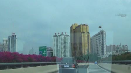 汽车上立交桥——往民族大道、南宁国际会展中心方向