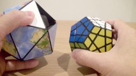 正二十面体地球儀パズルを作ってみた