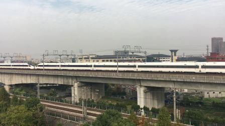 杭长高铁萧山特大桥 复兴号G7335次通过