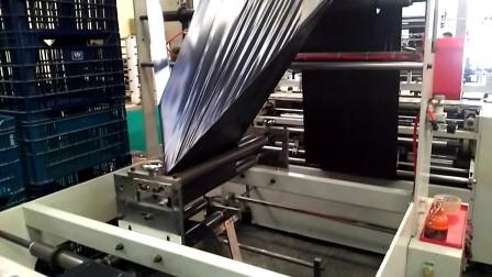 Shuttle Driven Plastic Bag on Roll Machine