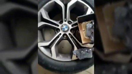 11.25【车主体验】宝马车主体验安装中力安陶瓷刹车片现场,高端车主的正确选择