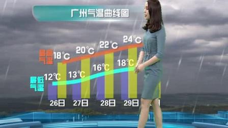 20171125广东卫视天气预报