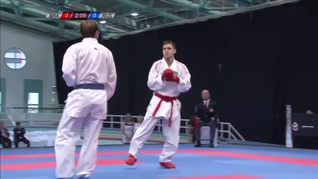 WKF 2017 Germanopen Male Kumite -60kg Final Plakhutin(RUS) vs Brose(BRA)