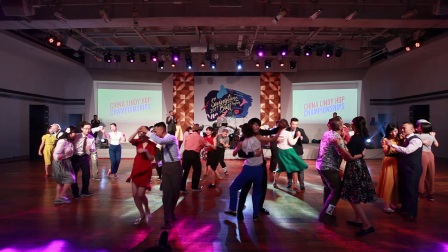 Swingtime Ball 2017 - Open Strictly Lindy Preliminary