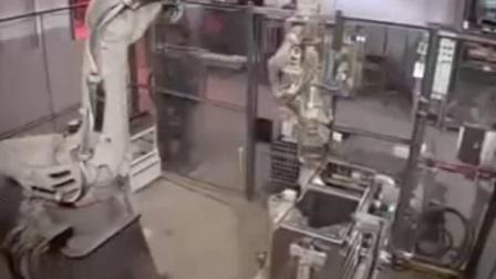 双机器人点焊系统