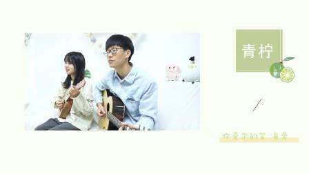 青柠  徐秉龙/桃十五 尤克里里吉他弹唱cover【桃子鱼仔ukulele教室】