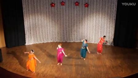 国际霎哈嘉瑜伽精彩的印度舞蹈_标清