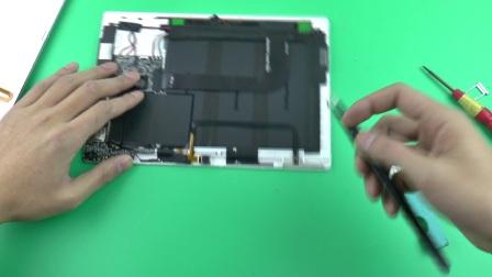 晨芯数码工作室原创 台电T10拆机维修更换屏幕总成视频教程