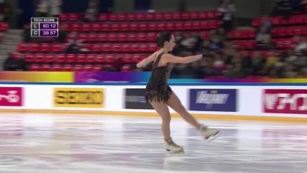 Elizaveta Tuktamysheva- FS- 2017 Internationaux de France