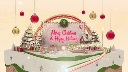 AE模板 20935617-christmas-card