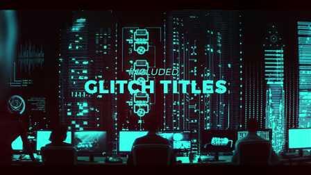 AE模板 20479670-glitch-transitions