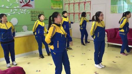 晋州市龙腾幼儿园《孝心到永远》舞蹈