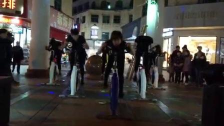 抚州东乡区鑫浩莎健身房动感单车表演Zim团队