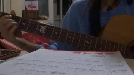 猎户星座(女声版)--大雨吉他弹唱