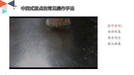 刘文雅-西安市商贸旅游成人中等专业学校-中西式面点常见操作手法