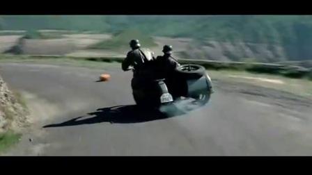 《虎口脱险》德寇骑摩托车卡车