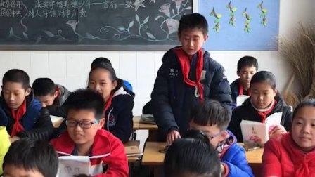 大儿子六年级读书朗诵比赛