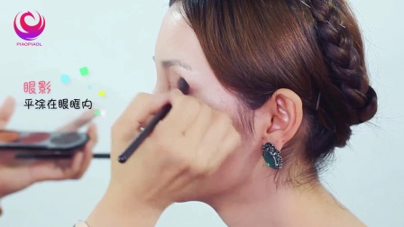 上海荟艺学院创意化妆造型鲜花妆