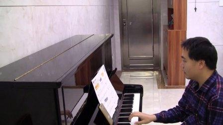 03. 摩天轮上升 - 菲伯尔钢琴基础教程第2级, 技巧和演奏