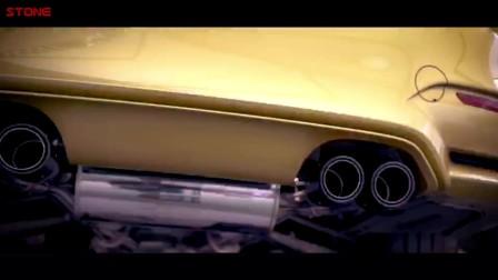 STONE巨石排气 BMW  M4电子阀门中尾段