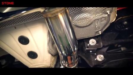 STONE巨石排气 BMW F31 B48 330i电子阀门中尾段
