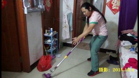拖地舞 搞笑死了!朱坤 2015-10-4