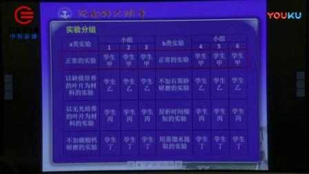 第四届全国高中生物教师实验教学《绿叶中色素的提取和分离》说课视频,刘晓乐