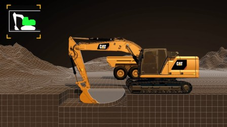 E-Fence Cab Avoidance For Cat® Next Generation Excavators
