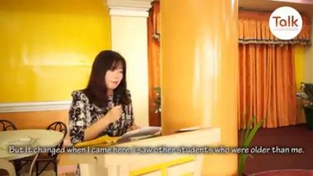 """这是演讲的Kim Ok Hee """"HERA"""" 当她毕业从TALK 学院 2017年11月10日"""