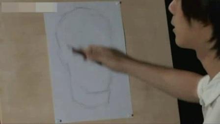 简单易画的素描画 速写风景农村 自学素描教程基础教程