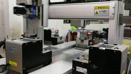 星然机械双轴双工位自动锁螺丝机