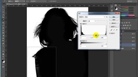平面设计基础教程之如何利用PS抠头发