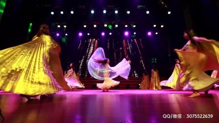 单色舞蹈第二届爱与舞蹈公益汇演肚皮舞《梦中埃及》上  肚皮舞培训