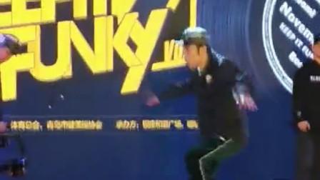 平度舞韵街舞培训创始人张老师2017,11青岛比赛