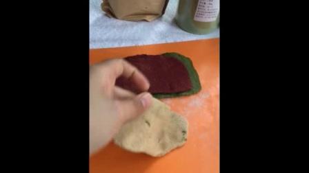 彩色-花卷和包子的做法--好吃又健康--素食营养师莎莎
