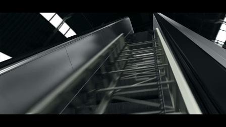 三菱HE系列自动扶梯