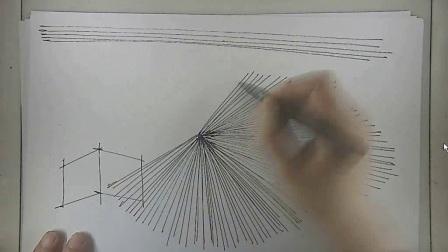 建筑马克笔手绘视频教程1-1 线条1:直线
