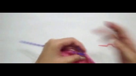初学者织围巾简单教程视频_标清