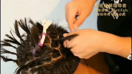 Natifah-传统脏辫钩针做法
