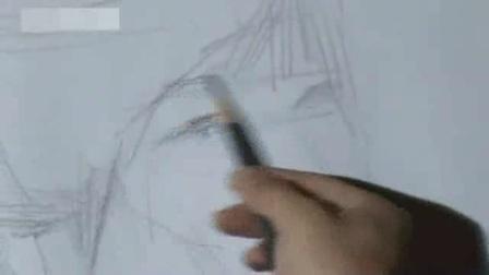 素描基础图片 素描动漫人物少女教程 初学者简单速写步骤