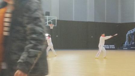 山西省柔力球集训开班仪式表演双人自编    晋中学院