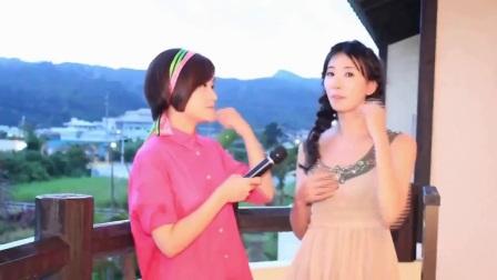 甜到腻人 林志玲机场纱裙飘飘对镜头比V卖萌 171205